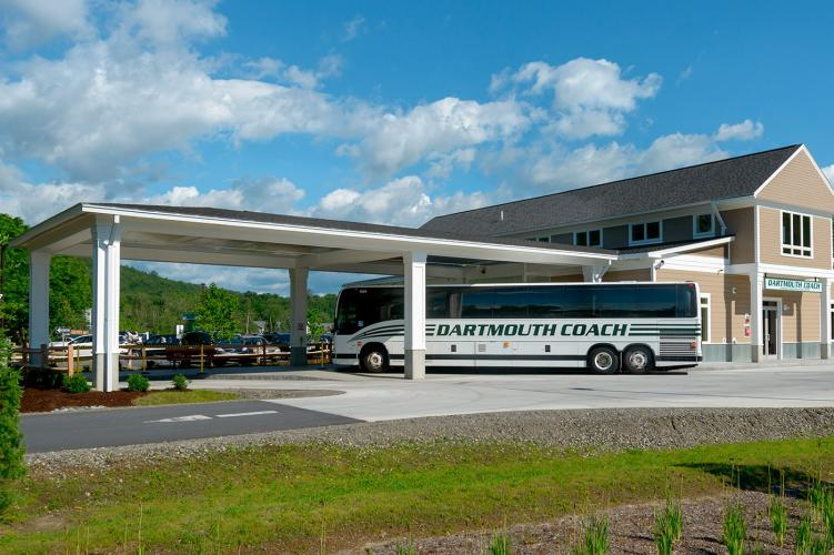 Transportation Terminal, Dartmouth Coach, Lebanon, NH