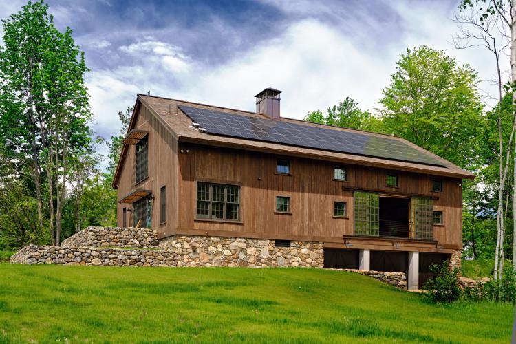 Guest House, Utility Barn, Recording Studio, Sauna, Harrisville, NH
